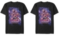 Marvel Men's Avengers Endgame Galaxy Poster, Short Sleeve T-shirt