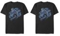 Marvel Men's Avengers Endgame Captain America Group, Short Sleeve T-shirt