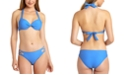 California Waves Solid Underwire Push-Up Bikini Top & Hipster Bottoms, Created for Macy's