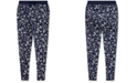 Polo Ralph Lauren Big Girls Floral Cotton French Terry Pants
