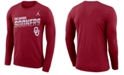 Nike Men's Oklahoma Sooners Legend Sideline Long Sleeve T-Shirt