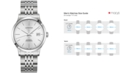 Longines Men's Swiss Automatic Record Collection Stainless Steel Bracelet Watch 38.5mm
