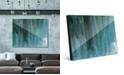 """Creative Gallery Kijuujuu in Teal Abstract 16"""" x 20"""" Acrylic Wall Art Print"""