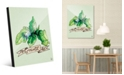 Creative Gallery Watercolor Mint on Green Acrylic Wall Art Print Collection