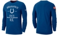 Nike Men's Indianapolis Colts Salute To Service Dri-FIT Cotton Long Sleeve T-Shirt