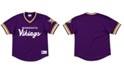 Mitchell & Ness Men's Minnesota Vikings Special Script Mesh V-Neck Top