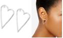 Lucky Brand Open Heart Drop Earrings