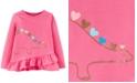 Carter's Toddler Girls Dinosaur Hearts Long-Sleeve Top