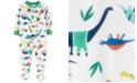 Carter's Toddler Boys 1-Pc. Dino-Print Footed Pajama