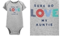 Carter's Baby Boys Cotton Love My Auntie Bodysuit