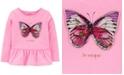 Carter's Toddler Girls Butterfly Peplum Top