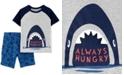 Carter's Toddler Boys 2-Pc. Cotton Shark T-Shirt & Shorts Set