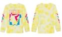 Pokemon Pokémon Big Boys Pikachu Just Pika Tie-Dye T-Shirt