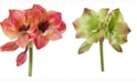Nearly Natural 13in. Amaryllis Artificial Flower Set of 4