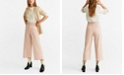 MANGO Belted Culottes