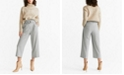 MANGO Belted Straight-Fit Trousers