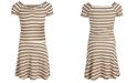 Epic Threads Big Girls 2-Pc. Striped Top & Skirt Set, Created for Macy's