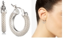 Lauren Ralph Lauren Small Mesh Hoop Earrings, 0.85""