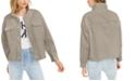 Calvin Klein Jeans Drop-Shoulder Cotton Denim Jacket