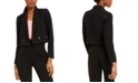 Bar III Cropped Double-Breasted Blazer, Created for Macy's