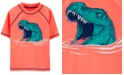 Carter's Toddler Boys Dino Short-Sleeve Rash Guard