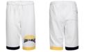 Converse Big Boys Collegiate Colorblocked Logo Shorts