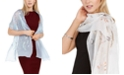 INC International Concepts INC Embroidered Floral Wrap, Created for Macy's