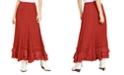 Free People Cypress Ruffle Maxi Skirt