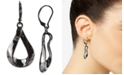 Charter Club Silver-Tone Sculptural Drop Earrings, Created For Macy's
