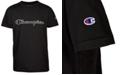 Champion Big Boys Two-Tone Open Script Logo T-Shirt