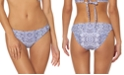 Jessica Simpson Printed Hipster Bikini Bottoms