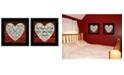 Trendy Decor 4U Trendy Decor 4U Love is Patient / Measure 2-Piece Vignette by Cindy Jacobs Collection