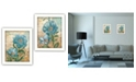 Trendy Decor 4U Trendy Decor 4U Paris Blue Collection By Ed Wargo, Printed Wall Art, Ready to hang Collection