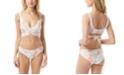 Vince Camuto Wrap-Tie Bikini Top & Shirred Smooth-Fit Bikini Bottoms