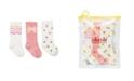 Cheski Sock Company Baby Girls Mixed Pretty Knee Socks, Pack of 3