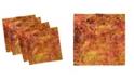 "Ambesonne Rustic Design Set of 4 Napkins, 12"" x 12"""