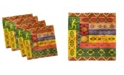 """Ambesonne African Set of 4 Napkins, 12"""" x 12"""""""