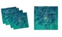 "Ambesonne Geometry Set of 4 Napkins, 12"" x 12"""