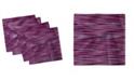 "Ambesonne Vintage-Like Knit Pattern Set of 4 Napkins, 12"" x 12"""