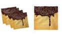 """Ambesonne Ice Cream Set of 4 Napkins, 12"""" x 12"""""""