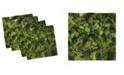 "Ambesonne Sage Set of 4 Napkins, 12"" x 12"""