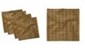 "Ambesonne Leopard Print Set of 4 Napkins, 12"" x 12"""