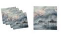 "Ambesonne Alaska Set of 4 Napkins, 18"" x 18"""