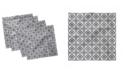 "Ambesonne Portuguese Tile Set of 4 Napkins, 18"" x 18"""
