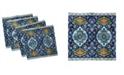 "Ambesonne Moroccan Set of 4 Napkins, 18"" x 18"""