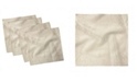 "Ambesonne Swirl Leaves Set of 4 Napkins, 18"" x 18"""