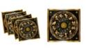 "Ambesonne Astrology Set of 4 Napkins, 18"" x 18"""