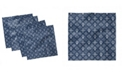 """Ambesonne Abstract Theme Set of 4 Napkins, 18"""" x 18"""""""