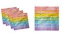 "Ambesonne LGBT Wooden Set of 4 Napkins, 18"" x 18"""