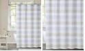 "Cottage Classics Spa Stripe Shower Curtain, 72"" x 72"""